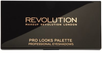 Makeup Revolution Pro Looks Stripped & Bare paleta cieni do powiek 2