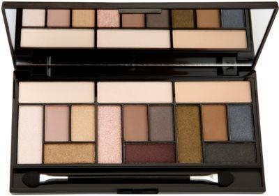 Makeup Revolution Pro Looks Stripped & Bare Palette mit Lidschatten