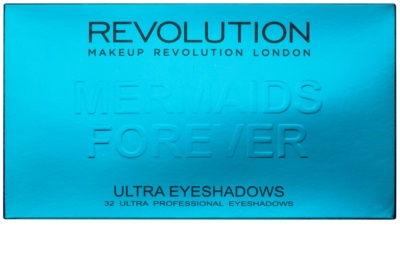 Makeup Revolution Mermaids Forever paleta farduri de ochi cu oglinda mica 2