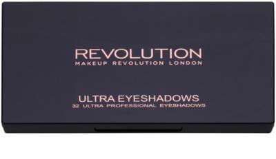 Makeup Revolution Flawless Matte 2 Palette mit Lidschatten mit Spiegel 1