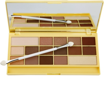 Makeup Revolution I ♥ Makeup Naked Chocolate palete milagrosa de sombras 1