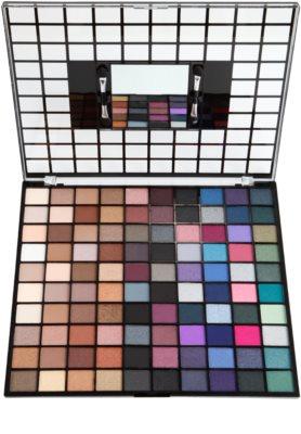 Makeup Revolution Nudes And Smoked Collection paleta farduri de ochi 1