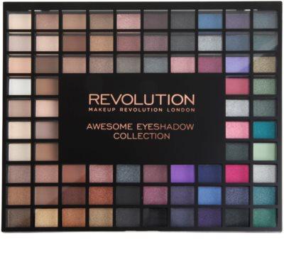 Makeup Revolution Nudes And Smoked Collection paleta farduri de ochi