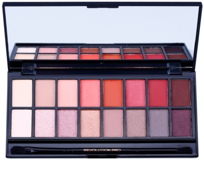 Makeup Revolution New-Trals vs Neutrals paleta de sombras de ojos con espejo y aplicador