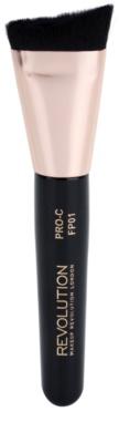 Makeup Revolution Pro Curve brochas de contorno para aplicar polvos