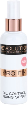 Makeup Revolution Pro Fix spray fijador de maquillaje matificante