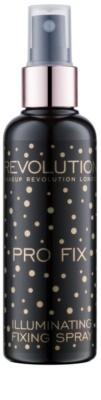 Makeup Revolution Pro Fix spray de fijacion y briilo