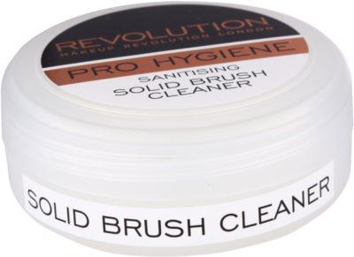 Makeup Revolution Pro Hygiene emulsión limpiadora antibacteriana para brochas