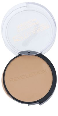 Makeup Revolution Pressed Powder матиращ бронзант 1