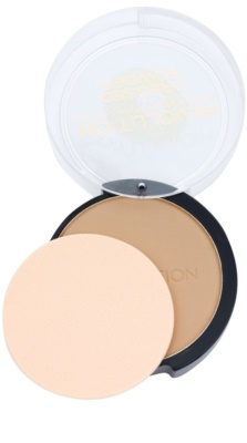 Makeup Revolution Pressed Powder матиращ бронзант 2
