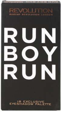 Makeup Revolution Run Boy Run paleta cieni do powiek 4