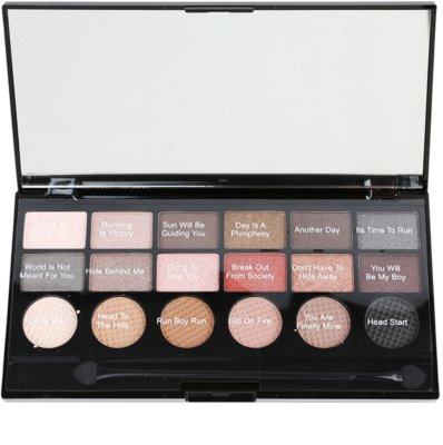 Makeup Revolution Run Boy Run paleta cieni do powiek