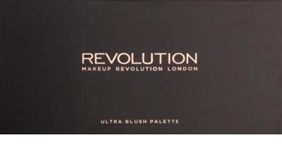 Makeup Revolution Golden Sugar 2 Rose Gold paleta de coloretes  con un espejo pequeño 1
