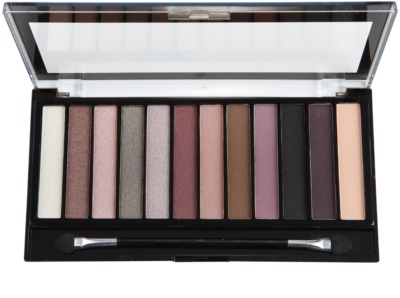 Makeup Revolution Romantic Smoked paleta de sombras de ojos 1