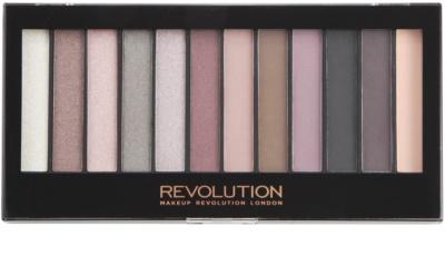 Makeup Revolution Romantic Smoked paleta cieni do powiek