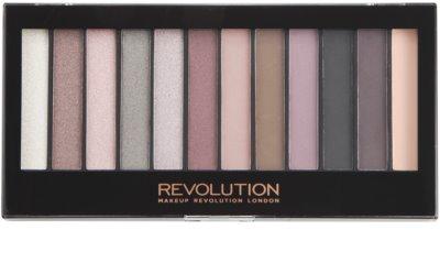 Makeup Revolution Romantic Smoked paleta senčil za oči