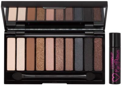 Makeup Revolution I ♥ Makeup Selfie paleta očních stínů + podkladová báze