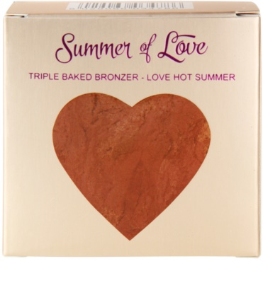 Makeup Revolution I ♥ Makeup Summer Of Love pó bronzeador 3