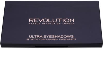 Makeup Revolution Flawless 2 paleta de sombras de ojos con un espejo pequeño 1