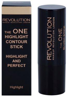 Makeup Revolution The One Highlighter in der Form eines Stiftes 2
