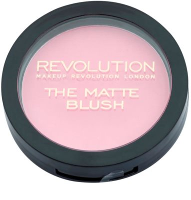 Makeup Revolution The Matte blush 1