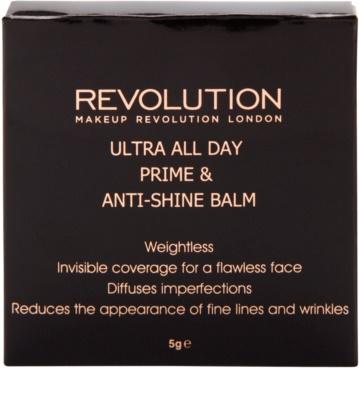Makeup Revolution Ultra All Day 2 in 1 primer si balsam anti-stralucire 3