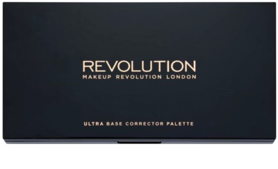 Makeup Revolution Ultra Base paleta korektorjev 1