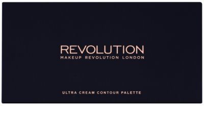 Makeup Revolution Ultra Cream Contour Contouring Palette 1