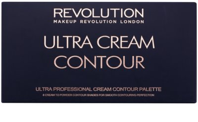 Makeup Revolution Ultra Cream Contour Contouring Palette 2