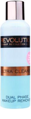 Makeup Revolution Ultra Cleanse removedor de maquilhagem bifásico