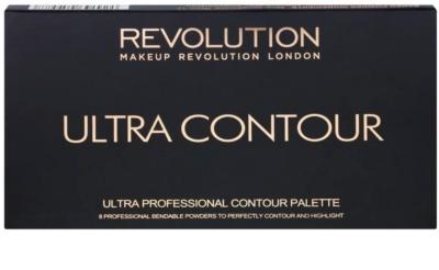 Makeup Revolution Ultra Contour paleta na kontury obličeje 2