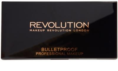 Makeup Revolution Ultra Brow paletta a szemöldök sminkeléséhez 2