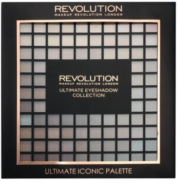 Makeup Revolution Ultimate Iconic paleta farduri de ochi cu aplicator 2