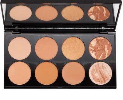 Makeup Revolution Ultra Bronze paleta pentru contur facial