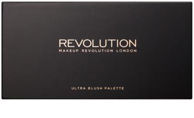 Makeup Revolution Ultra Bronze paleta do konturowania twarzy 1