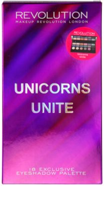 Makeup Revolution Unicorns Unite paleta de sombras de ojos 3