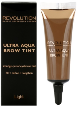 Makeup Revolution Ultra Aqua vopsea de sprancene 2