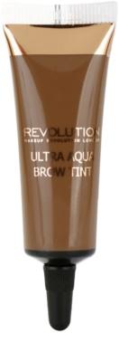 Makeup Revolution Ultra Aqua coloração temporária para sobrancelhas