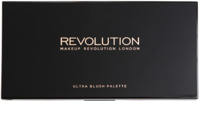 Makeup Revolution Ultra Blush paleta de coloretes 1