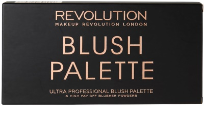 Makeup Revolution Ultra Blush paleta de coloretes 2