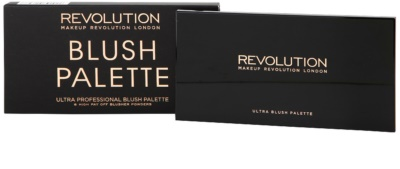 Makeup Revolution Ultra Blush paleta de coloretes 3