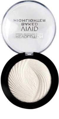 Makeup Revolution Vivid Baked Highlighter pó iluminador