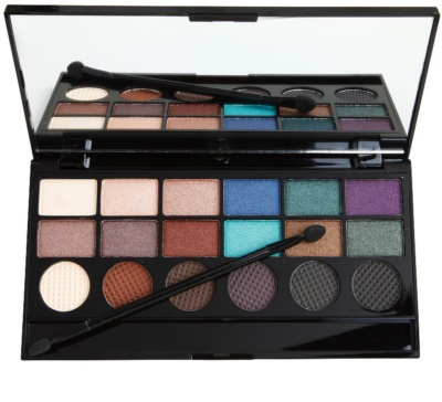 Makeup Revolution Welcome To The Pleasuredome paleta de sombras de ojos 1