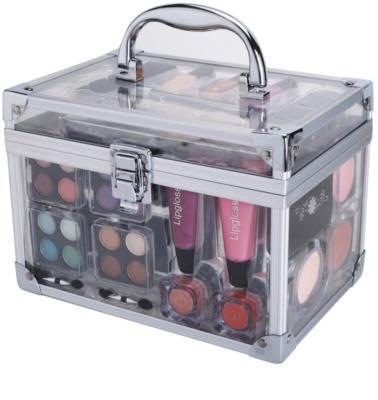 Makeup Trading Schmink Set Transparent Kosmetik-Set  I.