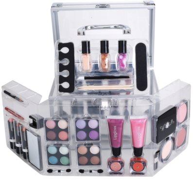Makeup Trading Schmink Set Transparent Kosmetik-Set  I. 1