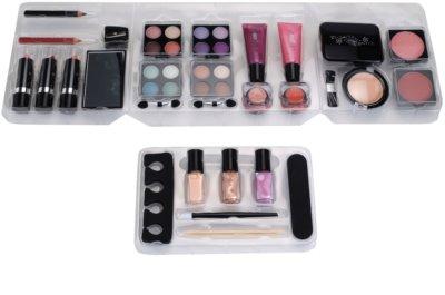 Makeup Trading Schmink Set Transparent Kosmetik-Set  I. 2