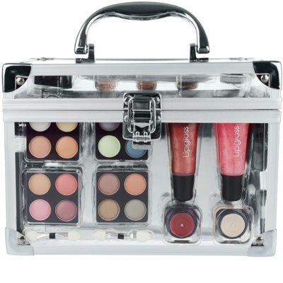 Makeup Trading Schmink Set Transparent Kosmetik-Set  I. 4