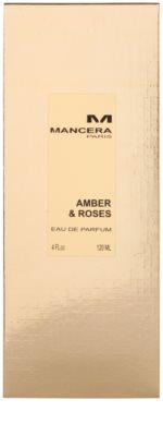 Mancera Amber & Roses Eau de Parfum unisex 4