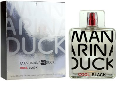 Mandarina Duck Cool Black Eau de Toilette para homens