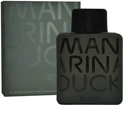 Mandarina Duck Black eau de toilette para hombre